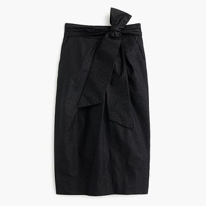 NWT 🖤 J. Crew Tie Waist Pencil Skirt